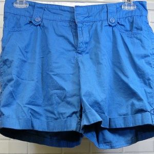 Lee One True Fit Blue Shorts Size 8 Walking Chino'